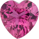Heart Genuine Pink Tourmaline
