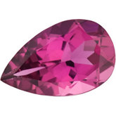 Pear Genuine Pink Tourmaline