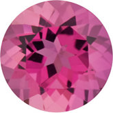 Round Genuine Pink Tourmaline