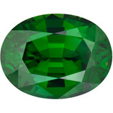 Oval Genuine Green (Chrome) Tourmaline