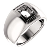 Men's Ring Mounting