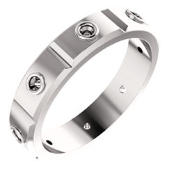 Accented Men's Ring