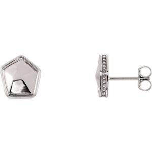 Geometric Earrings 9.5mm