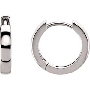 Hinged 3mm Hoop Earrings