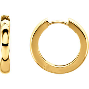Hinged 3mm Hoop Earrings