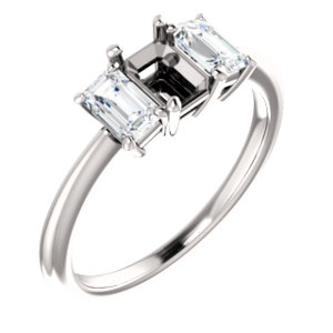 3-Stone Engagement Ring