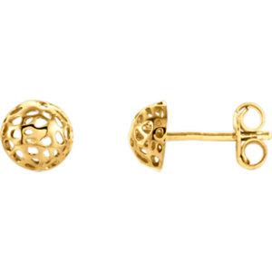 Pierced-Style Earrings 5.7mm