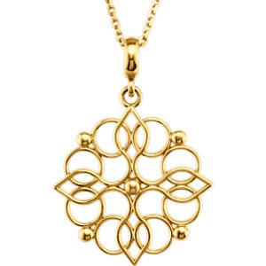 Decorative Pendant or Necklace