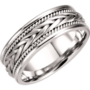 Hand-Woven 6.75mm Band