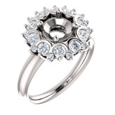 Cluster Accented Ring
