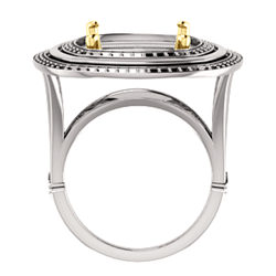 Double Halo-Style Ring