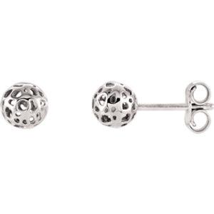 Ball Earrings 5.5mm