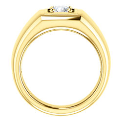 Men's Solitaire Ring