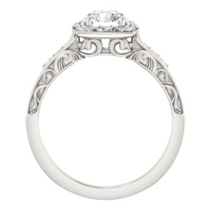 Sculptural Engagement Ring