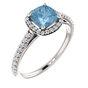Halo-Styled Engagement Ring