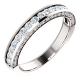 Diamond Anniversary Ring or Mounting