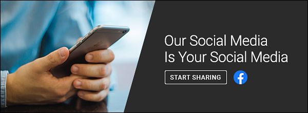 Our social media is your social media