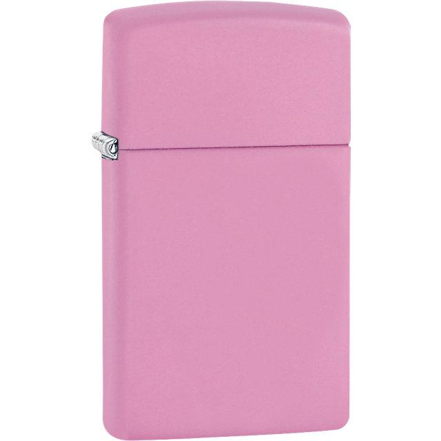 Zippo® Slim® Pink Matte Lighter