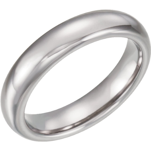 Tungsten 4 mm Domed Band Size 11.5
