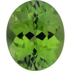 Peridot Oval 3.91 carat Green Photo