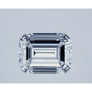 Emerald 0.71 carat E VS2 Photo