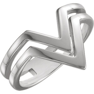 Sterling Silver Double Row
