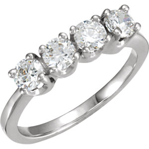 round diamond classic bands eternity wedding heaven rings stone image for platinum band four ring