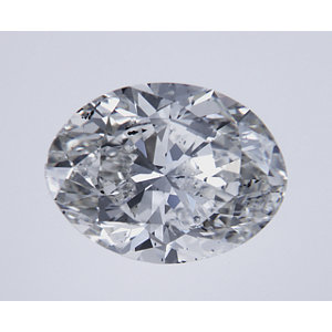 Oval 2.00 carat H SI1 Photo