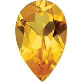 Pear Imitation Citrine