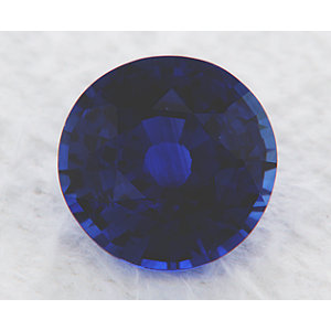 Sapphire Round 1.16 carat Blue Photo