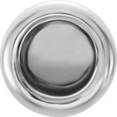 4.75x4.25mm End Cap with Jump Ring