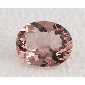 Morganite Oval 3.68 carat Pink Photo