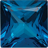 Square Genuine Kashmir Topaz