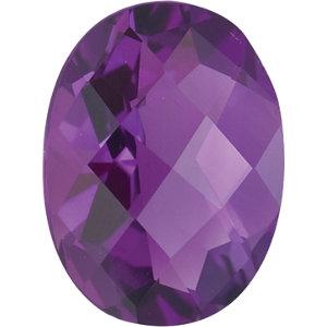 Amethyst Oval 0.42 carat Purple Photo