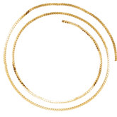 2.38mm Gold Filled Serpentine Chain by the Inch