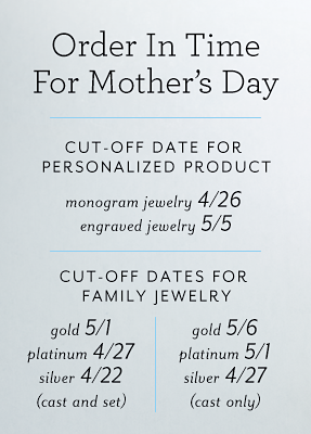 Cut-off date for personalized product