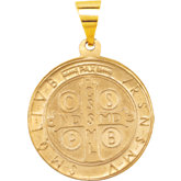 Hollow St. Benedict Medal
