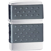 Zippo® Black Zip Guard Brushed Chrome Lighter
