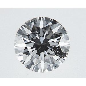 Round 0.70 carat I I2 Photo