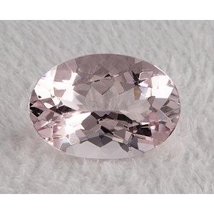 Morganite Oval 4.66 carat Pink Photo