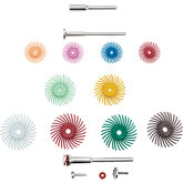 Dedeco® Sunburst® All-In-One Radial Discs Assortment Kit