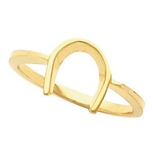 Fashion Rings , 14K White Western Style Ring