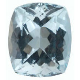 Antique Cushion Genuine Aquamarine (Black Box)