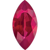 Marquise Genuine Ruby