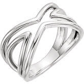 Criss Cross Ring