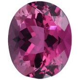 Oval Genuine Pink Tourmaline (Black Box)
