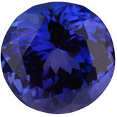 Round Genuine Tanzanite (Black Box)