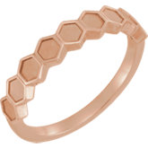 Stackable Geometric Ring