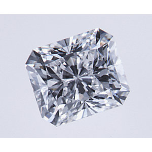 Radiant 0.50 carat F VS2 Photo