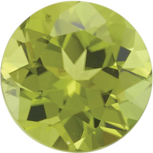 Peridot Round 0.25 carat Green Photo